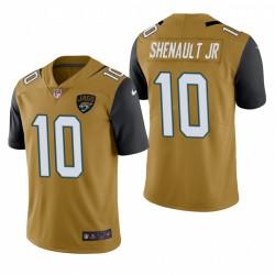 Laviska Shenault Jr. Jacksonville Jaguars Couleur Gold Rush limitée Maillot NFL Draft