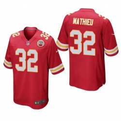 Kansas City Chiefs Tyrann Mathieu 32 Red jeu Maillot