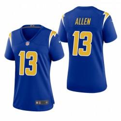 Femmes Keenan Allen 13 Los Angeles Chargers Royale 2 Autre jeu Maillot