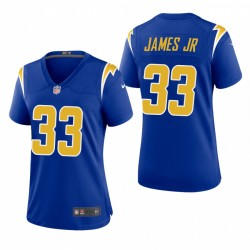Femmes Derwin James 33 Los Angeles Chargers Royale 2ème Autre jeu Maillot
