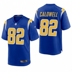 Chargeurs Los Angeles Reche Caldwell Jeu Royal Maillot