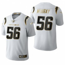 Los Angeles Chargers Kenneth Murray blanc NFL Draft or limitée Maillot