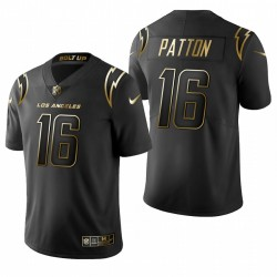 Andre Patton Los Angeles Chargers Or Limitée Maillot - Noir