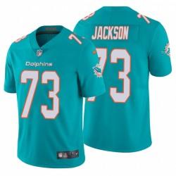 Austin Jackson 73 Miami Dolphins Aqua vapeur limitée Maillot NFL Draft