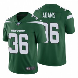 Jets 36 Josh Adams Vert 100ème saison limitée Maillot