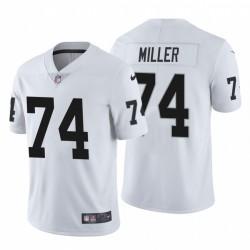 Kolton hommes Miller 74 Oakland Raiders vapeur Intouchable limitée Blanc Maillot