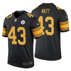 Derek Watt Pittsburgh Steelers couleur Rush Black Legend Maillot