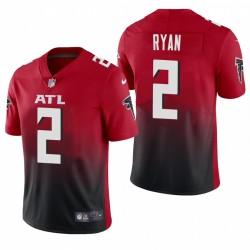 Matt Ryan Atlanta Falcons 2 Autre vapeur limitée Maillot - Rouge