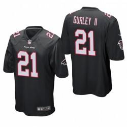 Todd Gurley 21 Atlanta Falcons jeu noir Maillot