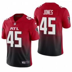 Deion Jones Atlanta Falcons 2 Autre vapeur limitée Maillot - Rouge