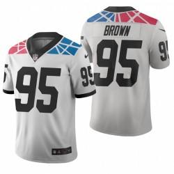 Panthers 95 Brown Derrick White City Édition Limitée Vapor Maillot