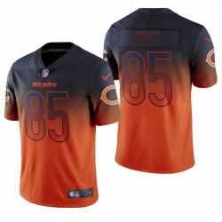Cole Bears Kmet orange NFL Draft couleur Rush limitée Maillot